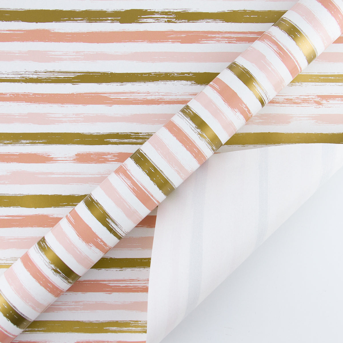 Wrapaholic-Pink-and-Gold Lines-Print-Gift-Wrapping-Paper-Roll-3