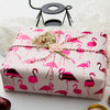 Wrapaholic-Pink-with- Fuschia-Foil-Flamingo-Gift- Wrapping- Paper-Roll-6