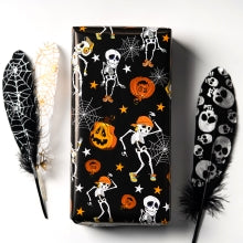 Wrapaholic-Pumpkin-and-Black-Cat-Design-Gift Wrapping-Paper-Sheet-4