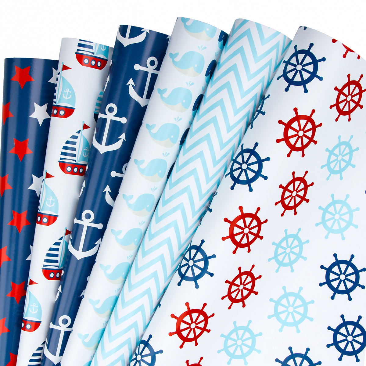 Wrapaholic-Sailing-Design-Wrapping-Paper-Sheets-1