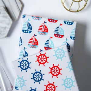 Wrapaholic-Sailing-Design-Wrapping-Paper-Sheets-2