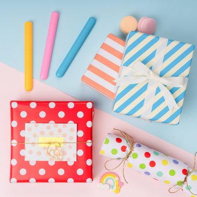 Wrapaholic-Stripes-and-Polka-Dot-Print-with-Cut-Lines-Gift-Wrapping- Paper-Roll-4