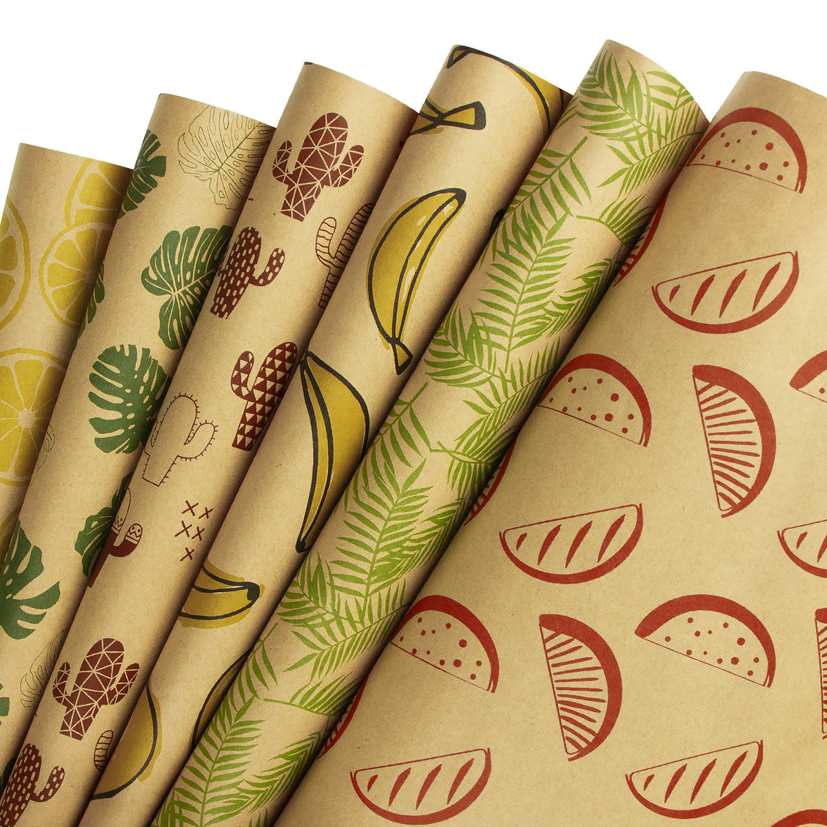 Wrapaholic-Summer-Fruit-Wrapping-Paper-Sheets-1