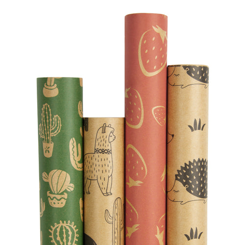 Wrapaholic-Summer-Style-Kraft-Gift-Wrapping-Paper-1