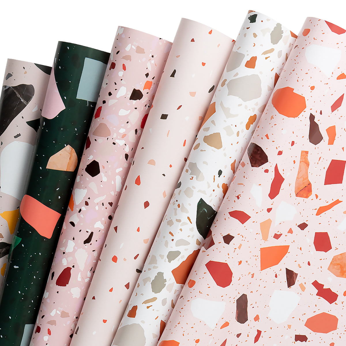 Wrapaholic-Terrazzo-Pattern-Gift-Wrapping-Paper-Sheet-1