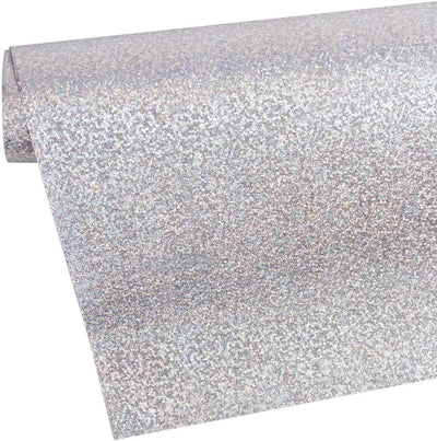 Wrapaholic-brushed-metal-laser-silver-gift-wrapping-paper-roll