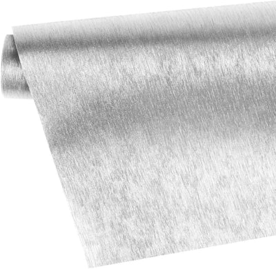 Wrapaholic-brushed-metal-silver-gift-wrapping-paper-roll