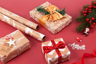Wrapaholic-christmas-kraft-wrapping-paper
