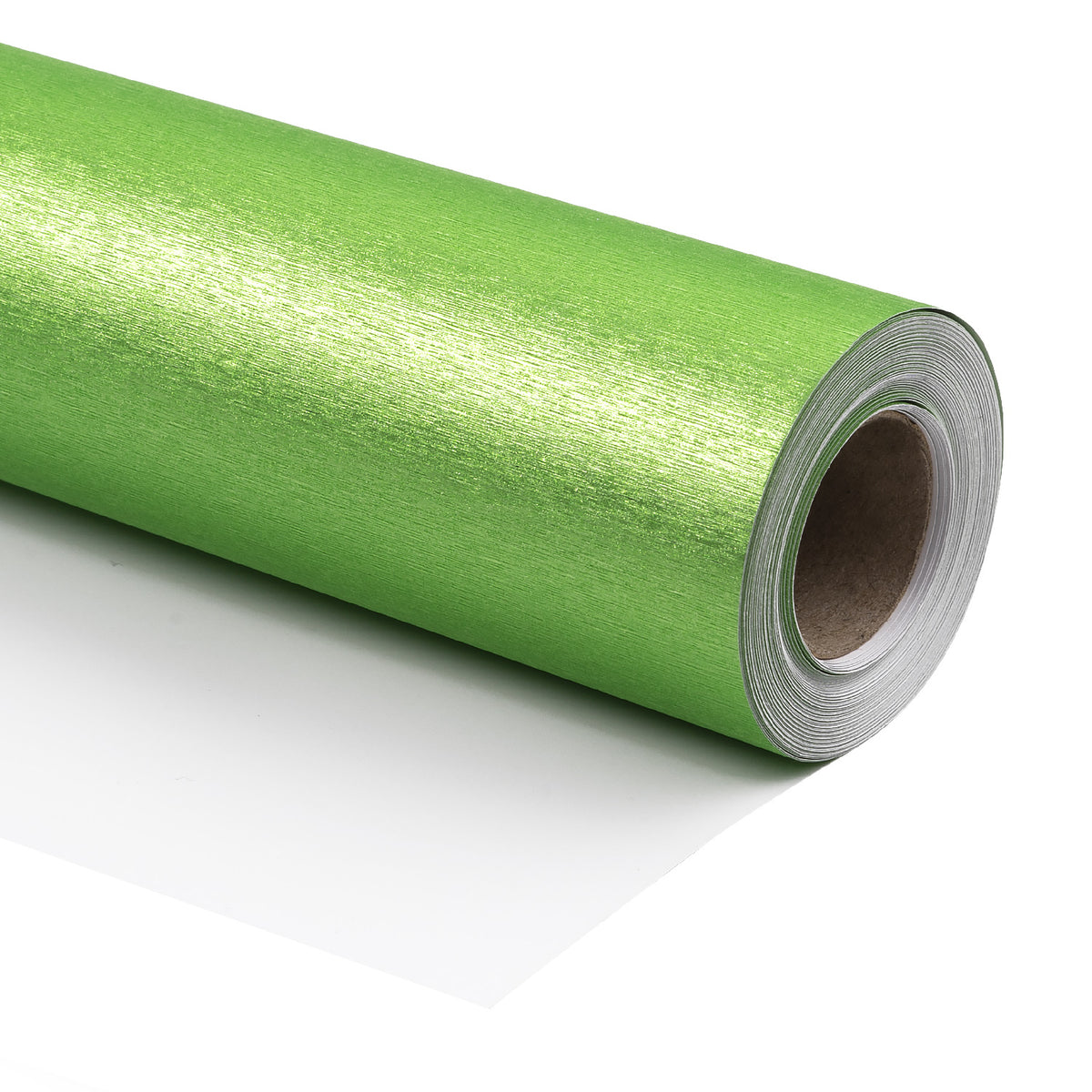 Wrapaholic-gift-wrap-roll-brush-metal-green