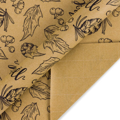 Wrapholic-christmas-kraft-gift-wrapping-paper