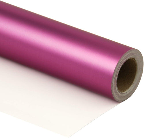 Wrapaholic-Matte-Metallic-Wrapping-Paper-Roll-Rosy-Rose-m