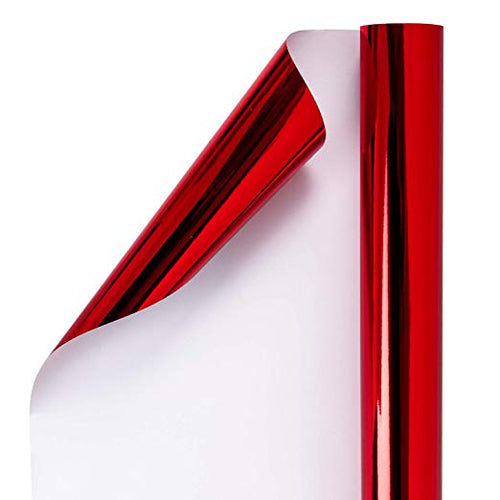 wrapaholic-glossy-matalic-red-gift-wrapping-paper-1