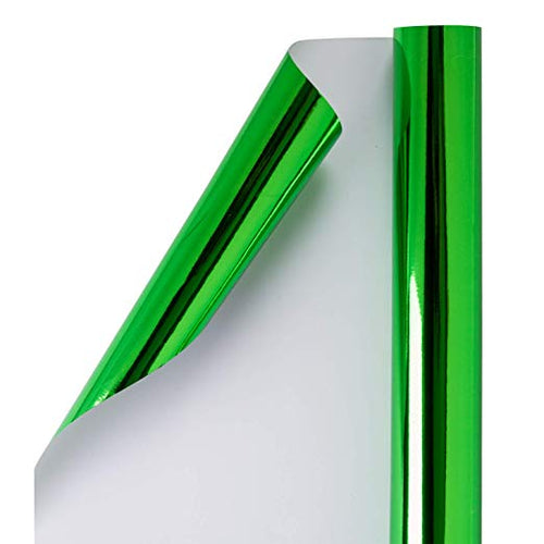 wrapaholic-glossy-metalic-green-gift-wrapping-paper-1
