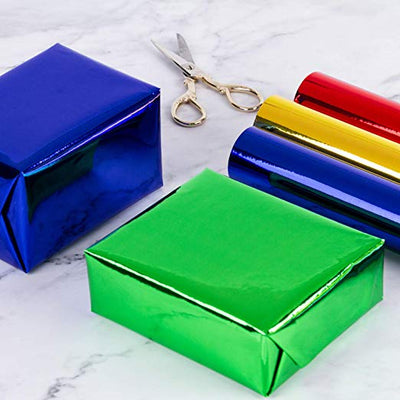 wrapaholic-glossy-metalic-green-gift-wrapping-paper-4