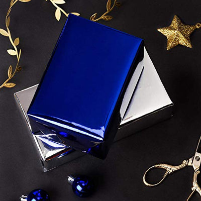 wrapaholic-glossy-metalic-royal-blue-gift-wrapping-paper-8