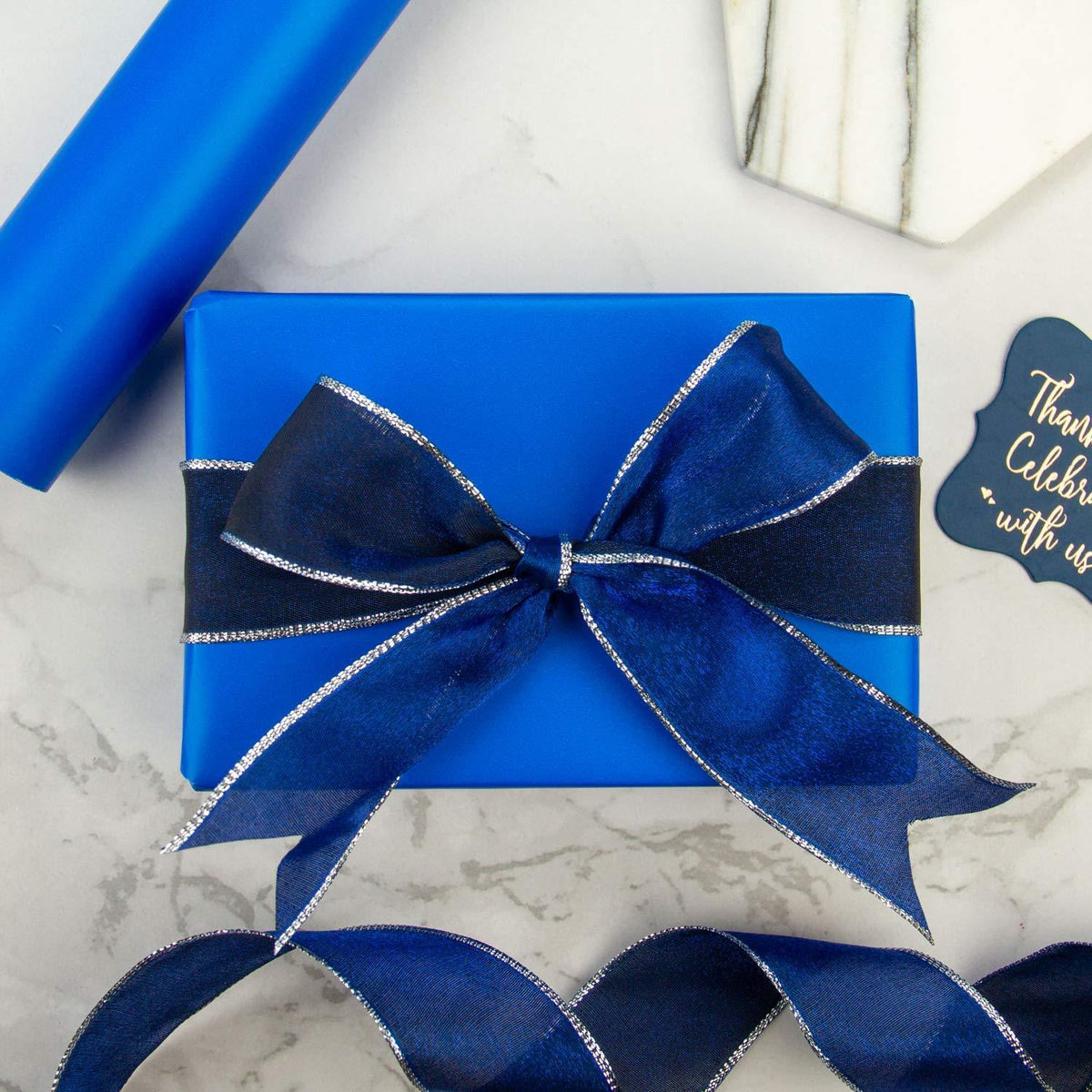wrapaholic-glossy-royal-blue-gift-wrapping-paper-roll-5