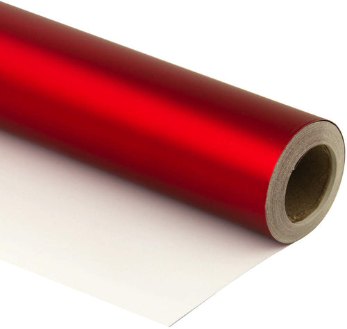 Wrapaholic-Matte-Metallic-Wrapping-Paper-Roll-red-m