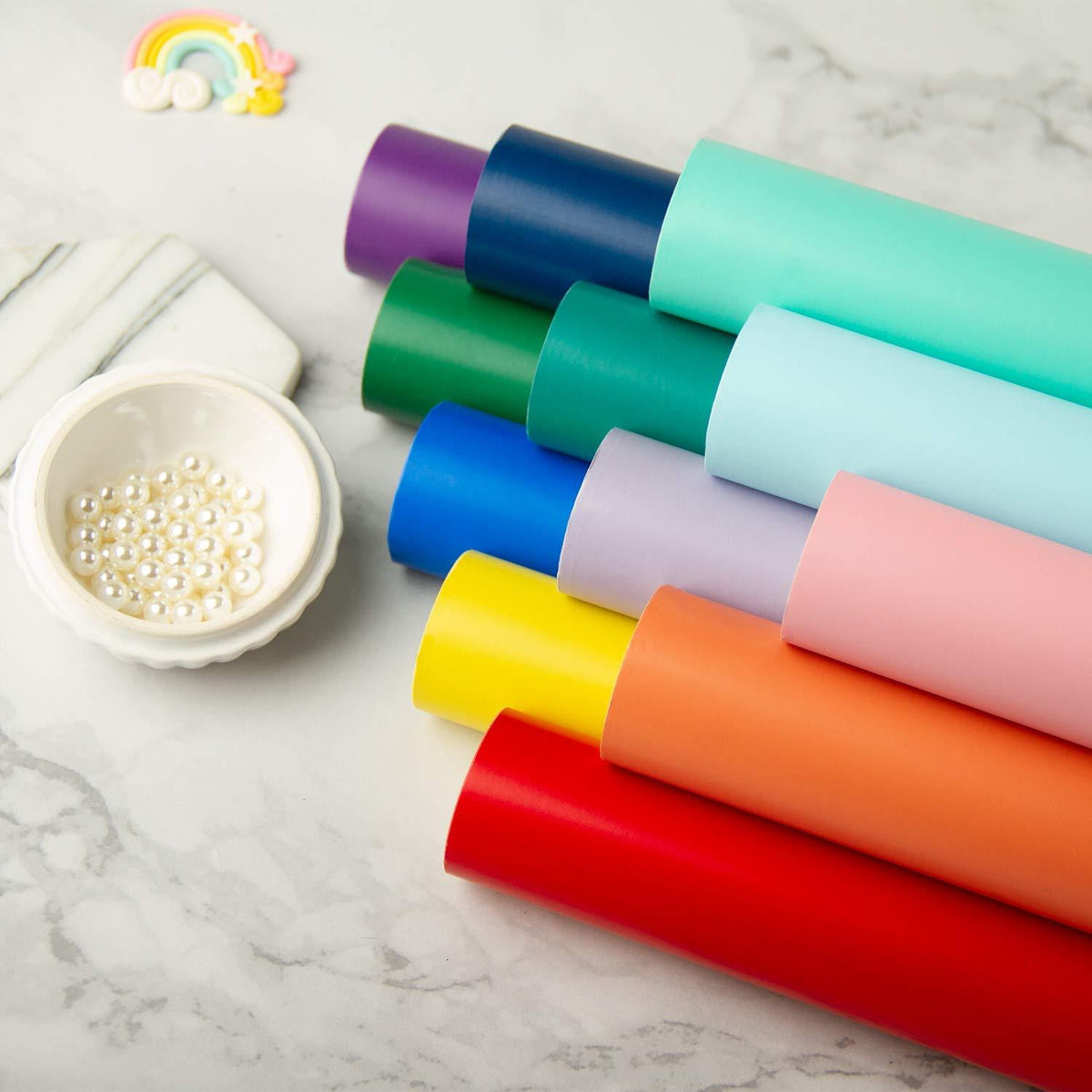 wrapaholic-glossy-solid-color-gift-wrap-roll