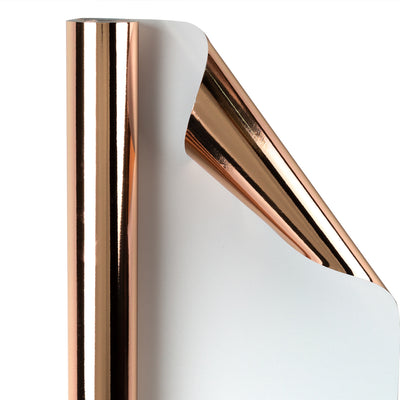Wrapaholic-Metallic-Wrapping-Paper-Roll-Rose-Gold-1