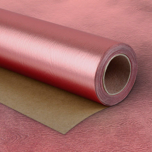 Wrapaholic-Metalic-Gift-Wrapping-Paper- Rose-Gold- Wood-Grain-m