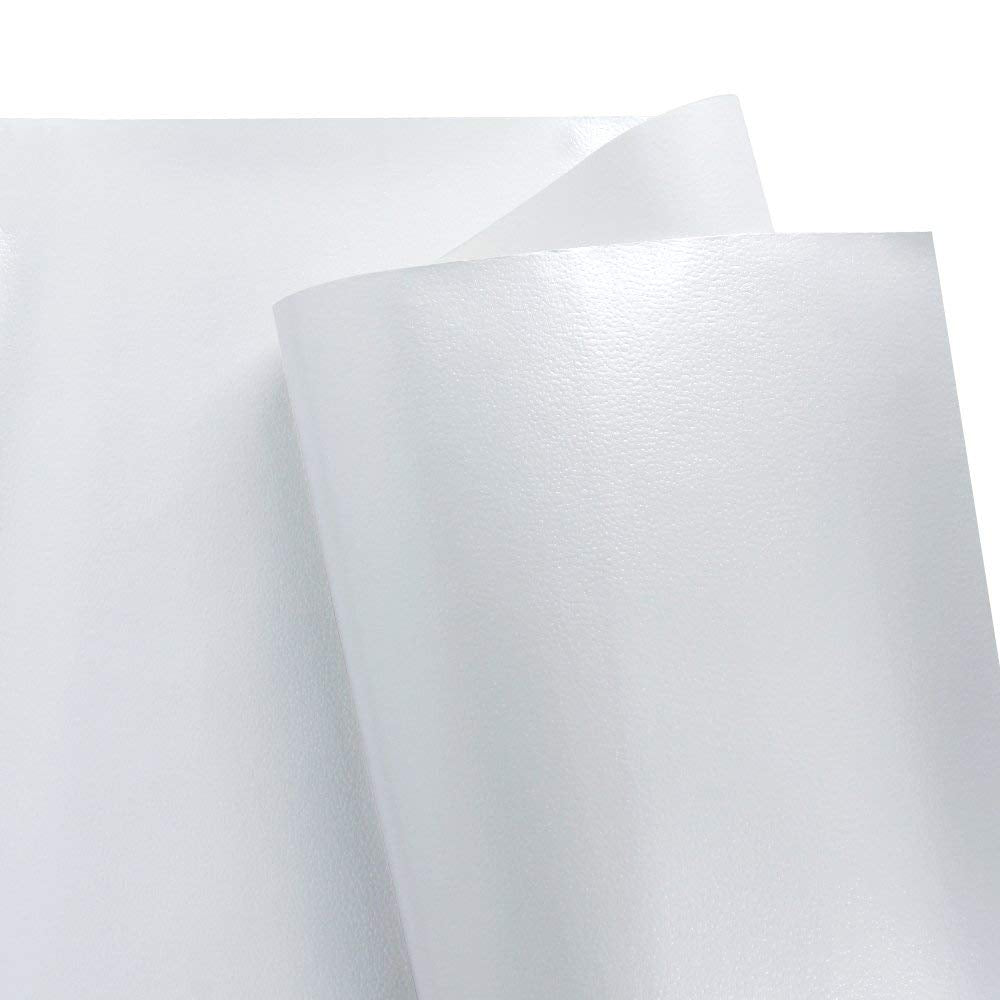 WRAPAHOLIC-Metalic-Gift-Wrapping-Paper- White-Lychee-Leather-Grain-2