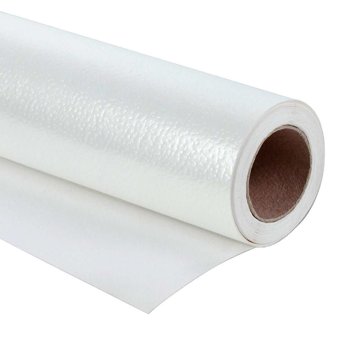 WRAPAHOLIC-Metalic-Gift-Wrapping-Paper- White-Lychee-Leather-Grain-1