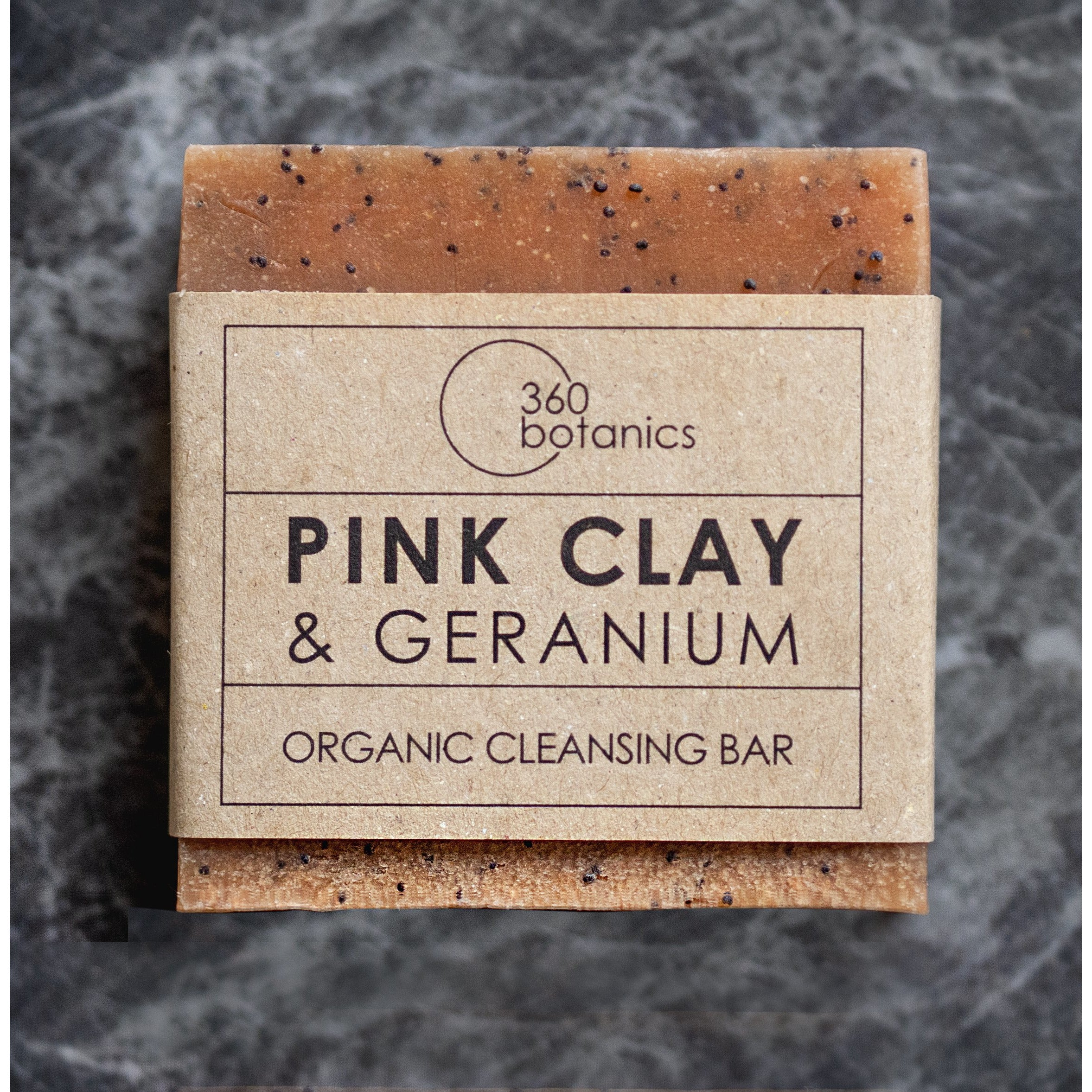 Image of Pink Clay and Geranium Soap gift set