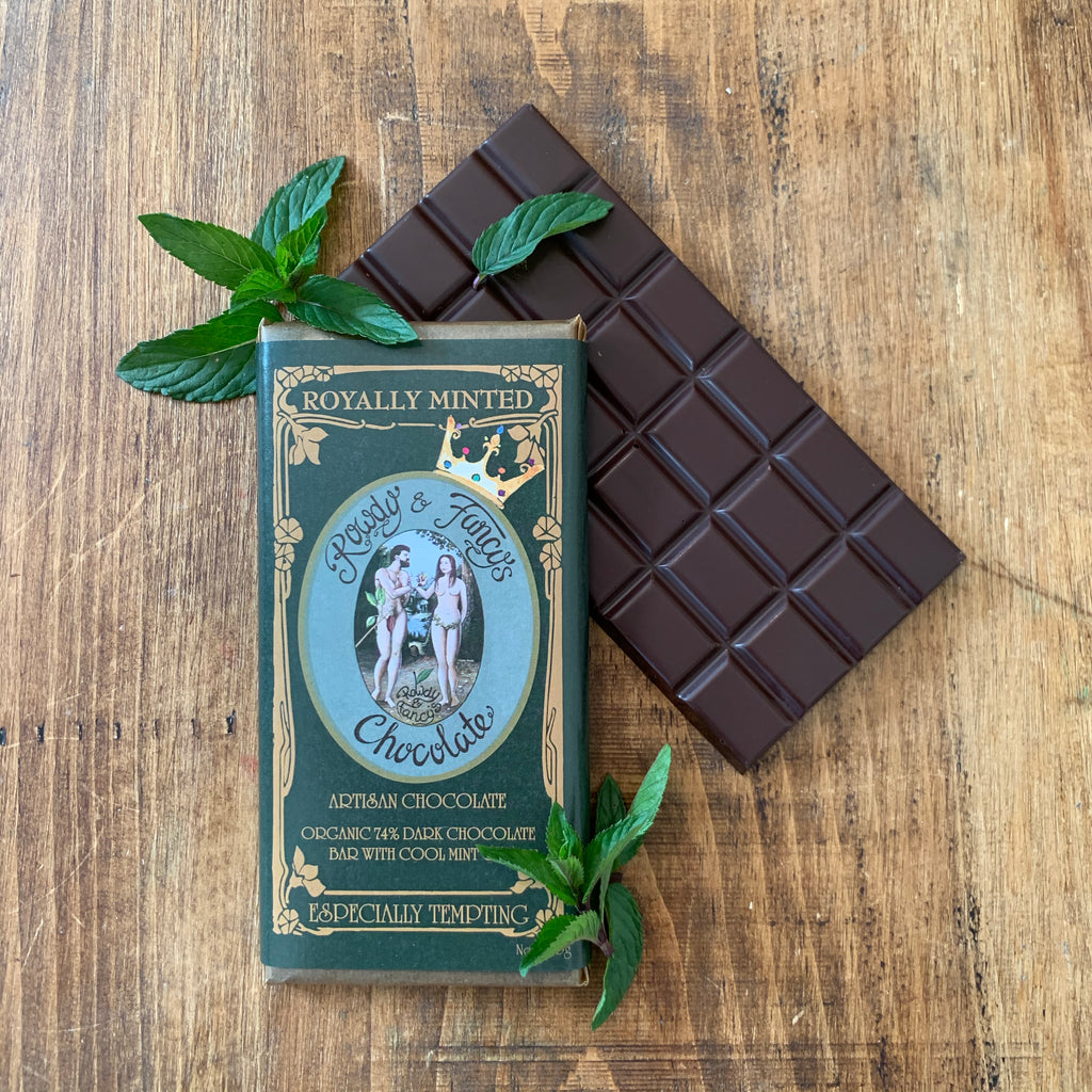 Image of Royally-Minted chocolate bar by chocolatier Rowdy_Fancy