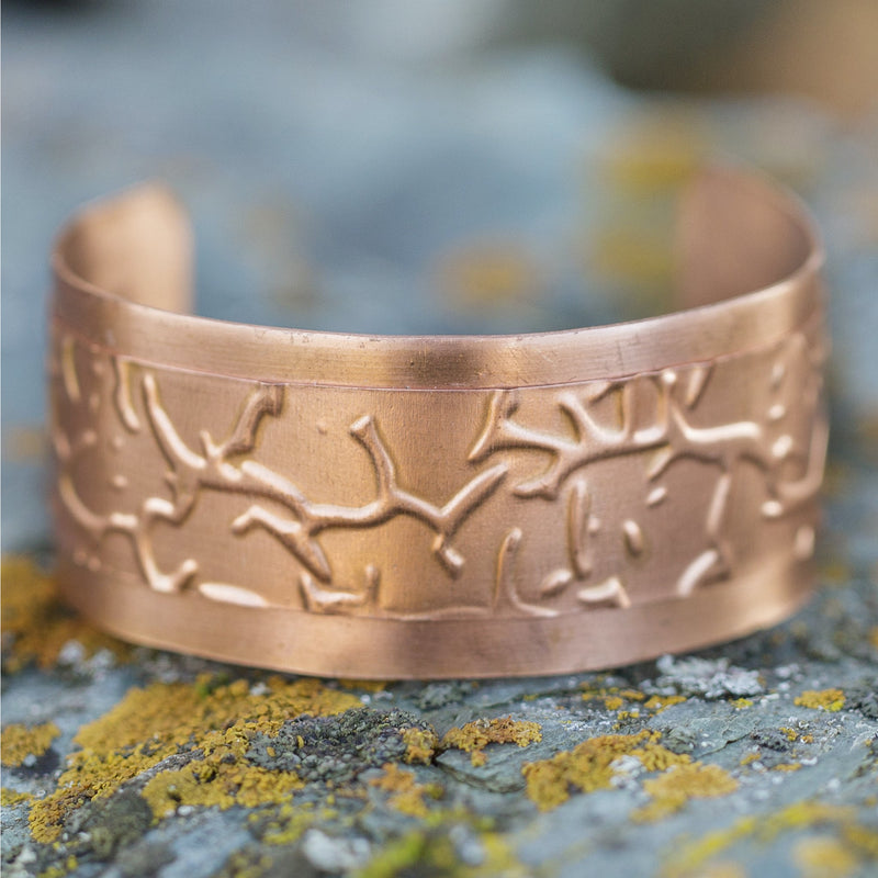Copper Over Copper Cuff #223