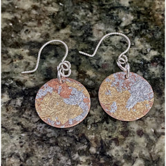 Metallic Earrings #241