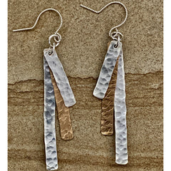Bronze & Sterling Dangles #258