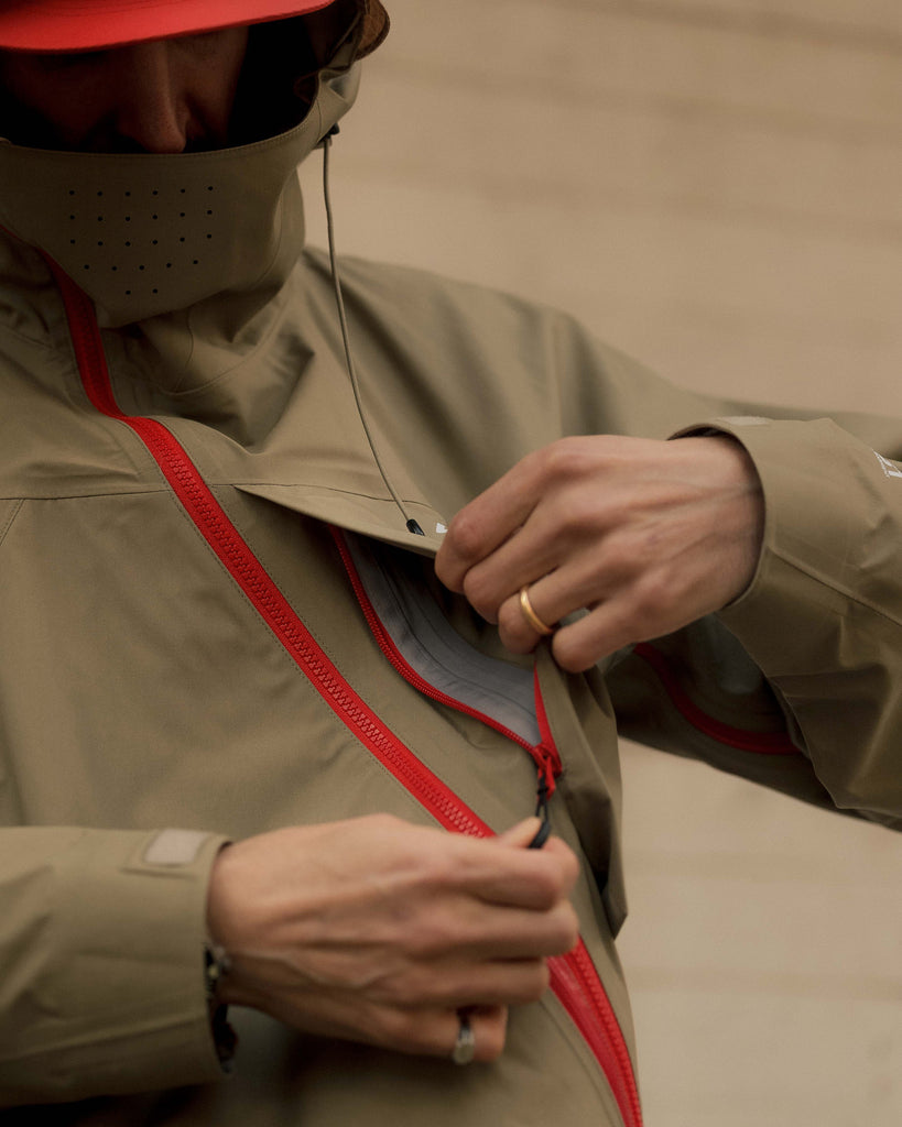 A Closer Look at the 'Slash Shell Jacket' from Comfy Outdoor Garment Spring/Summer '21