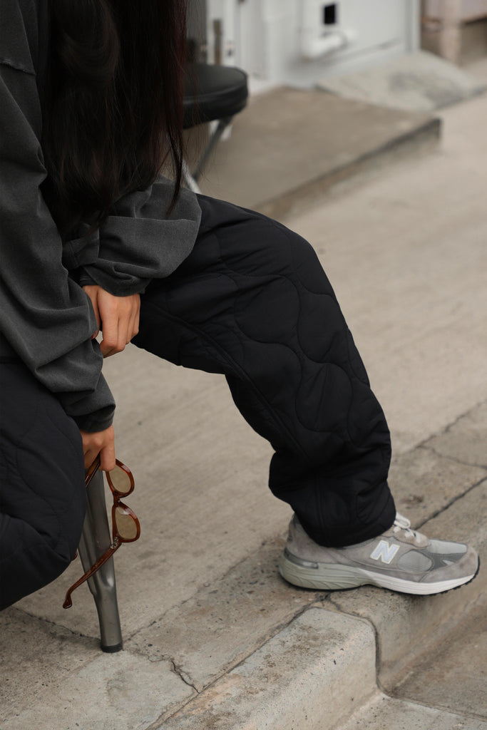 Korean Clothing Brand Merely Made Quilted Trecking Pant