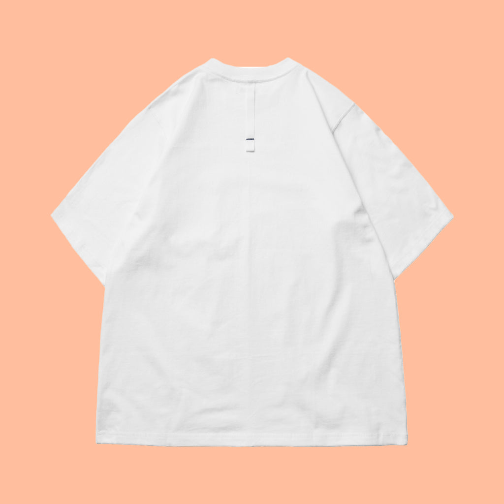 Simple Design Taiwan Pocket T-Shirt Cotton