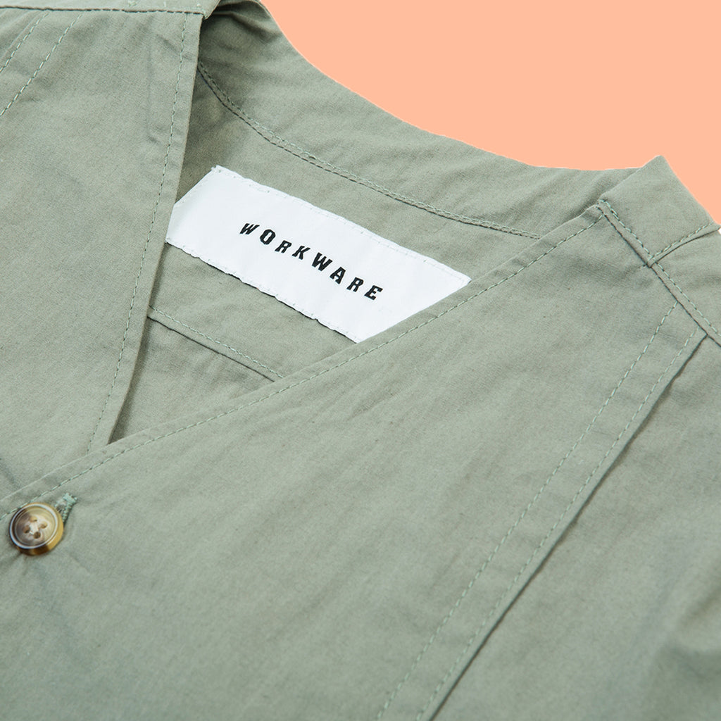 Morning Shirt Sage Green
