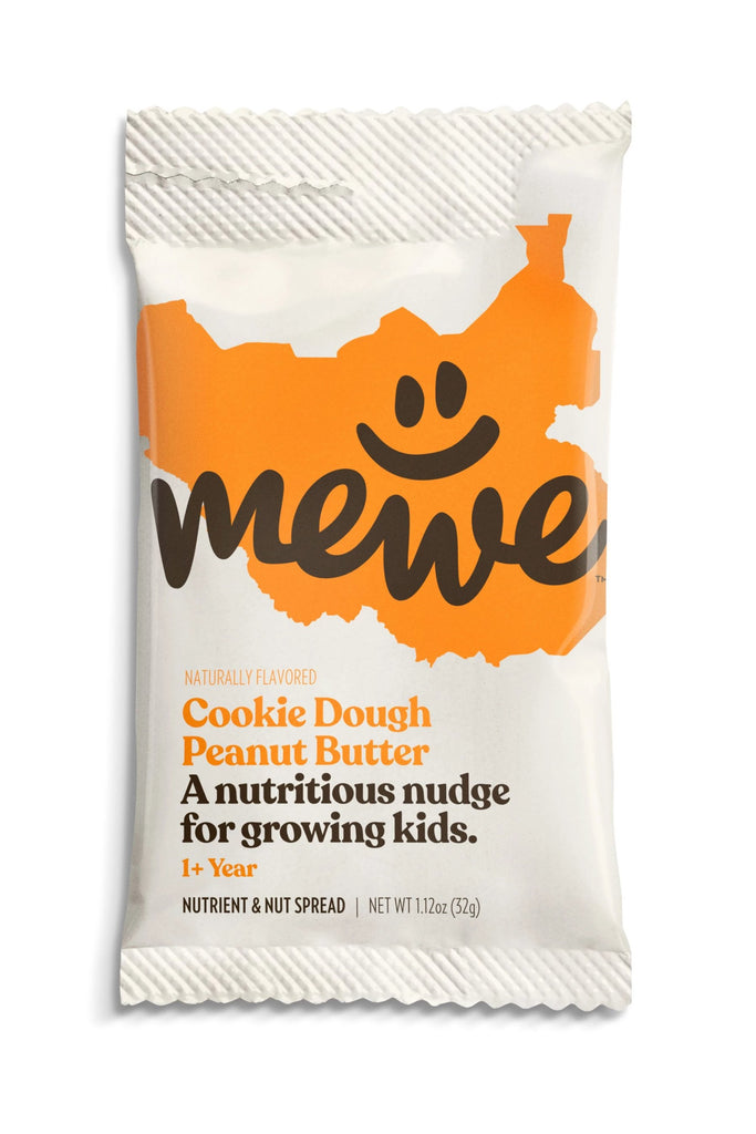 MeWe Kids, Cookie Dough Peanut Butter, 10-count