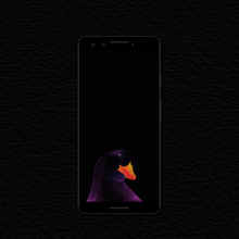Load image into Gallery viewer, Dark Ducky Wallpapers