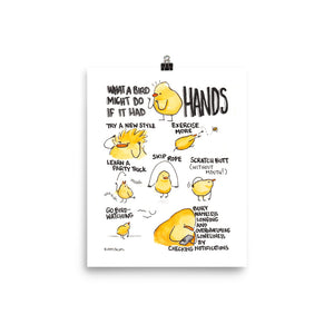What a Bird Might Do - Print
