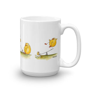 Hup Duck and Space Cadet Play Mug