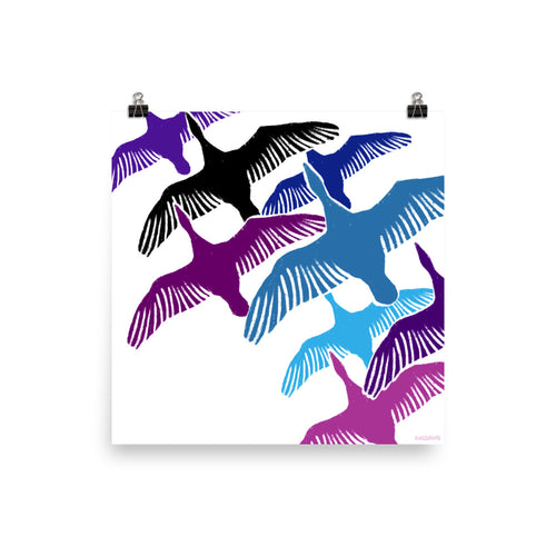 Birds of a Feather Print