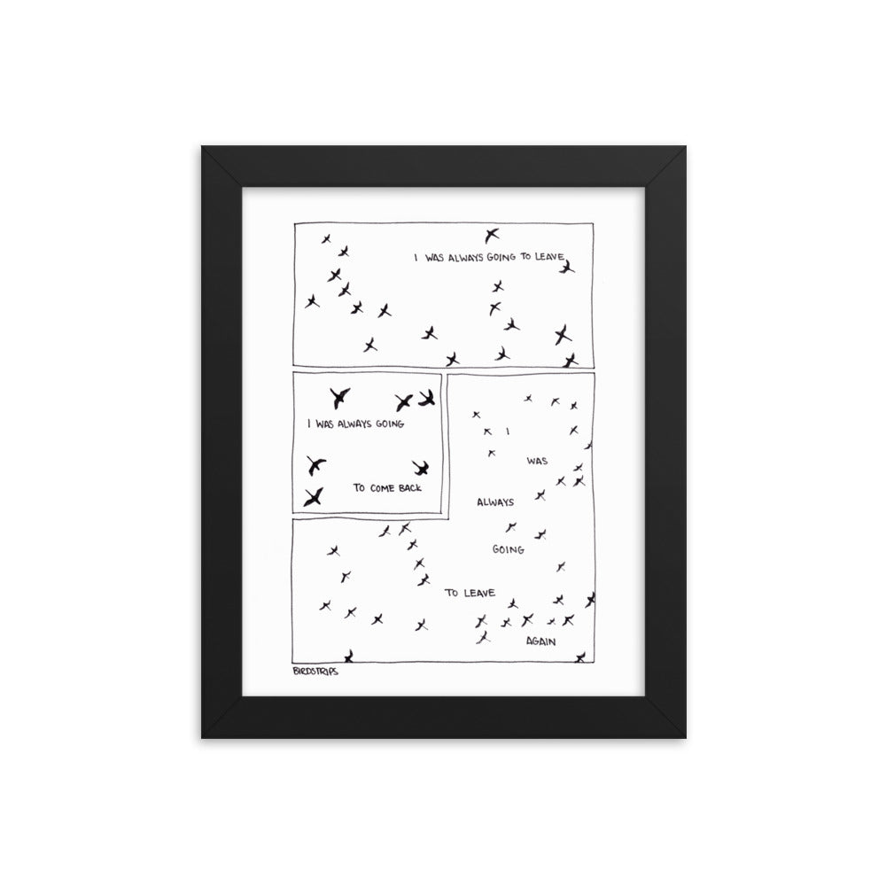 Migration - Framed Print