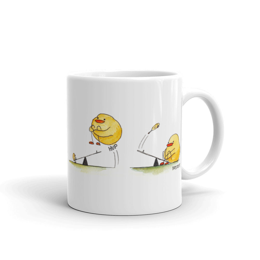 Hup Duck Meets Space Cadet Mug