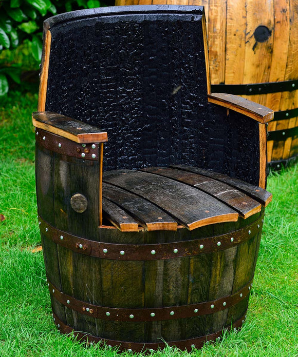 Whisky Barrel Chairs