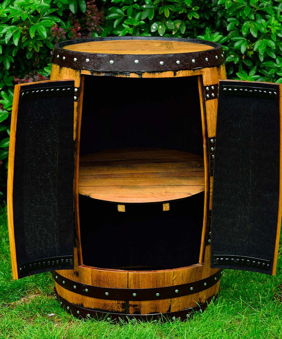 Whisky Barrel Wine Racks and Drinks Cabinets