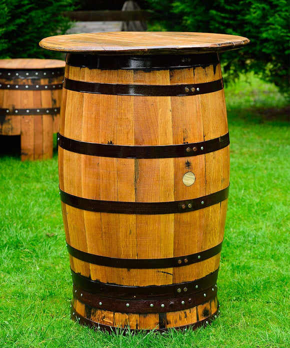 Whisky Barrel Tables