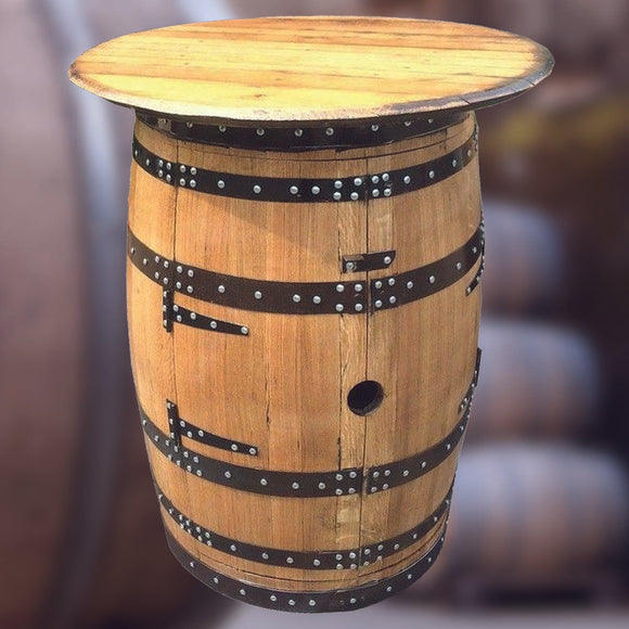 Recycled Solid Oak Whisky Barrel