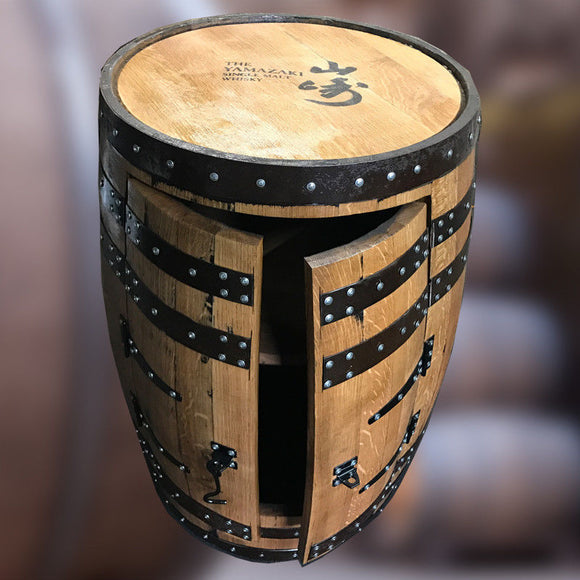Recycled Solid Oak Yamazaki Branded Whisky Barrel