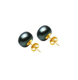 9ct Freshwater Button Stud