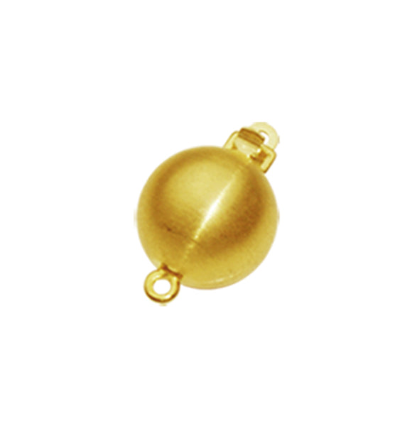9ct Matt Ball Clasp