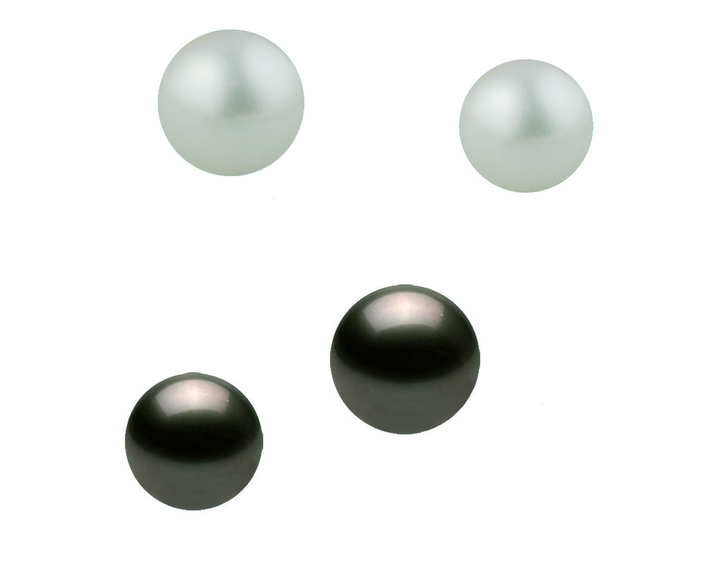 Akoya Half Drilled Round